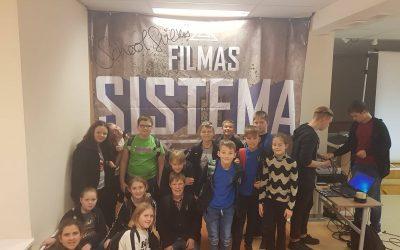 """Filmo """"Sistema"""" peržiūra ir aptarimas"""