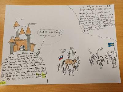 """Erasmus+ projekto """"Explore, Create and know"""" veikla"""