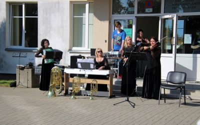 Muzikinė dovana progimnazijai